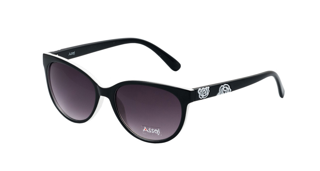 Assol 57107-Black-White Rose пластик W UV
