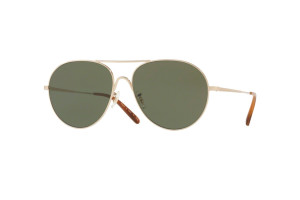 Oliver Peoples 1218S-503552 металл M UV + футляр + салфетка